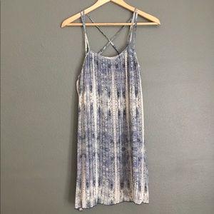 BCBG Strappy Boho Dress